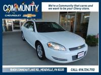 Chevrolet Impala Limited 2016 LT CARFAX One-Owner.