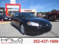 2016 CHEVROLET IMPALA LTZ SPORTS SEDAN WITH LEATHER AND