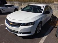 This 2016 Chevrolet Impala in Silver Ice Metallic
