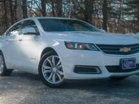 2016 Chevrolet Impala, Summit White, One Owner,