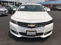 Options:  2016 Chevrolet Impala Lt|Summit White/Jet