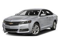 One Owner & Low Miles 2016 Chevrolet Impala LT 2LT!