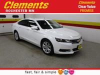 Options:  2016 Chevrolet Impala 4Dr Sdn Lt W/2Lt|Front