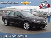 2016 Chevrolet Impala LT. Flex Fuel! Here it is! HOME