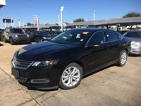 We are excited to offer this 2016 Chevrolet Impala.