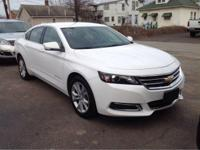 2016 Chevrolet Impala LT In White. Your bones have