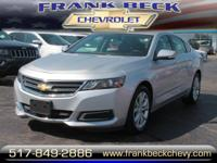 Options:  2016 Chevrolet Impala Lt|Lt 4Dr Sedan W/