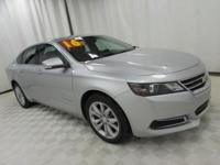 2016 Chevrolet Impala LT 2LT Silver CARFAX One-Owner.