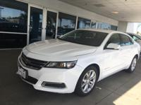 Options:  2016 Chevrolet Impala 4Dr Sdn Lt