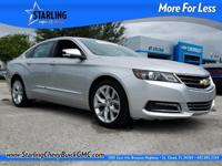 New Price! This 2016 Chevrolet Impala LTZ in Silver