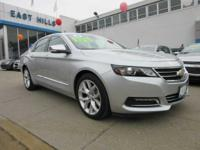 This certified pre-owned 2016 Chevy Impala LTZ features