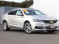 2016 Chevrolet Impala LTZ!!! Heated Leather Seats!!!