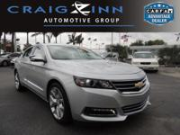 PREMIUM & KEY FEATURES ON THIS 2016 Chevrolet Impala