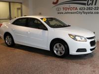 New Price! 2016 White Chevrolet Malibu Limited CALL OUR