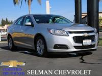 This Chevrolet Malibu Limited is CERTIFIED! Low miles