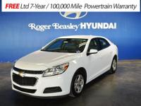 Introducing the 2016 Chevrolet Malibu Limited! A great