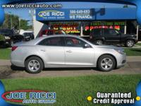 Options:  2016 Chevrolet Malibu Limited Lt|Silver|Just
