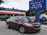 Options:  2016 Chevrolet Malibu Limited Lt|Red|You Need