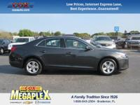 This 2016 Chevrolet Malibu Limited LT in Grey is well