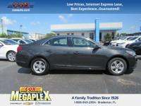 This 2016 Chevrolet Malibu Limited LT in Ashen Gray