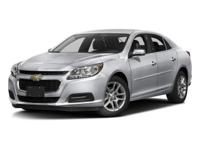 2016 Chevrolet Malibu Limited LT 34/24 Highway/City MPG