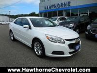 CERTIFIEDCarfax One Owner 2016 Chevrolet Malibu Limited