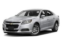 2016+Chevrolet+Malibu+Limited+LT+In+Silver+Ice+Metallic