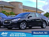 2016 Chevrolet Malibu Limited in Black. At home on the