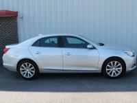 2016 Chevrolet Malibu Limited Silver Ice Metallic LTZ