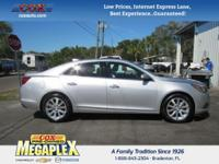 This 2016 Chevrolet Malibu Limited LTZ in is well