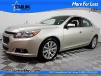 Malibu Limited LTZ, GM Certified, 4D Sedan, Silver Ice