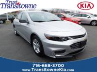 Recent Arrival! This 2016 Chevrolet Malibu LS in Summit