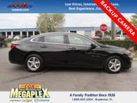 This 2016 Chevrolet Malibu LS in Black is well equipped