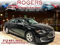 EPA 37 MPG Hwy/27 MPG City! Chevrolet Certified, CARFAX
