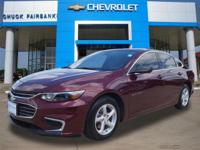 Check out this gently-used 2016 Chevrolet Malibu we