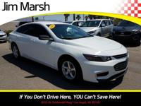 Malibu LS, 2016 one-owner car with a clean Carfax! A