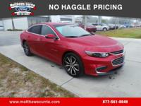 ****2016 CHEVROLET MALIBU LT****ONE OWNER, CLEAN