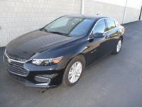 This 2016 Chevrolet Malibu LT in Mosaic Black Metallic