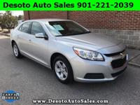 LOW MILES!! 2016 Chevrolet Malibu Limited LT with Only