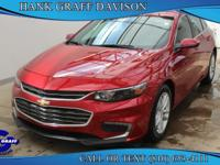 Introducing the 2016 Chevrolet Malibu! It delivers