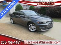 This 2016 Chevrolet Malibu LT in Gray features: 1.5L