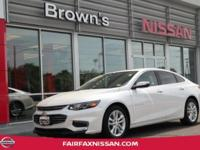 2016 MALIBU LT ** LOCAL TRADE ** CLEAN CARFAX **