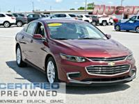 New Price! This 2016 Chevrolet Malibu LT in Butte Red