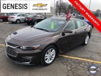 Clean Carfax, Balance Of Factory Warranty, OnStar,
