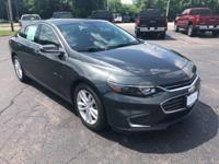 New Price! 2016 Malibu LT FWD Local Trade, Non-Smoker,