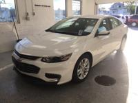 This 2016 Chevrolet Malibu LT in Summit White features: