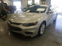 Recent Arrival! This 2016 Chevrolet Malibu LT in Silver