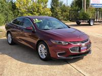 This outstanding example of a 2016 Chevrolet Malibu LT