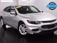 Options:  Pre-Owned 2016 Chevrolet Malibu Lt|Silver Ice
