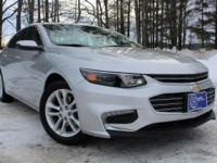2016 Chevrolet Malibu, Silver Ice, One Owner, Accident